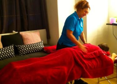 luxury in-office massage
