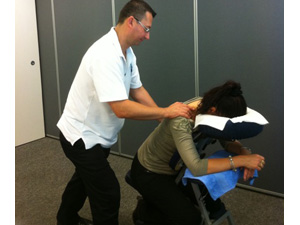 reward staff with in-office massage