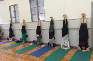 yoga in the office