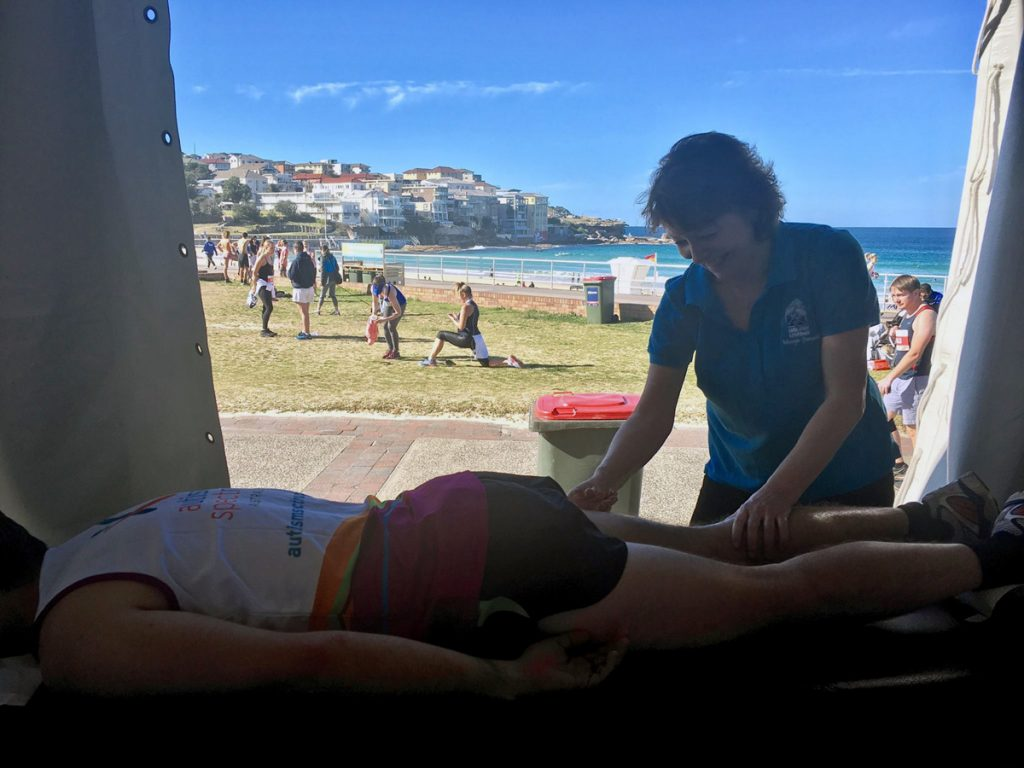corporate event massage - city 2 surf - absolutely corporate